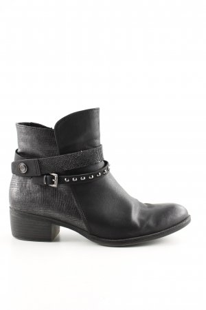 Marco Tozzi Booties schwarz Casual-Look