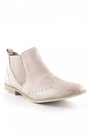 Marco Tozzi Booties rosé Street-Fashion-Look