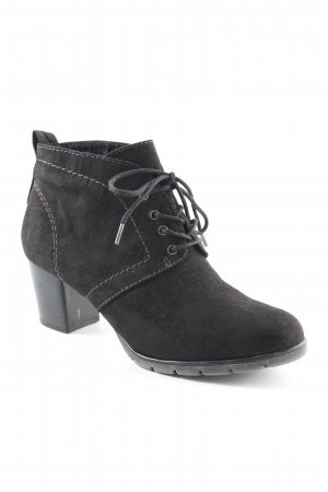 Marco Tozzi Booties black simple style
