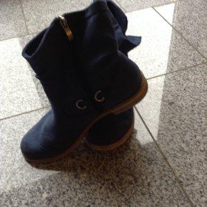 Marco Tozzi Boots flach in blau... mit weicher Sohle im Schuh