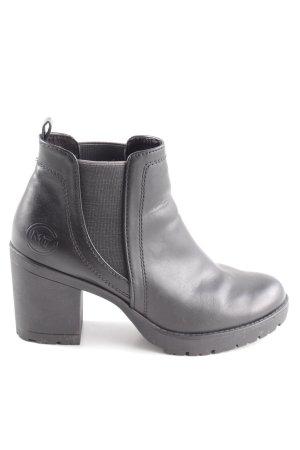 Marco Tozzi Chelsea Boots schwarz Business-Look