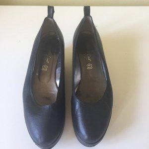 Slingback Ballerinas black leather