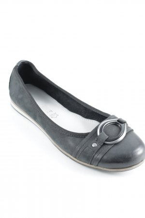 Marco Tozzi Foldable Ballet Flats black casual look