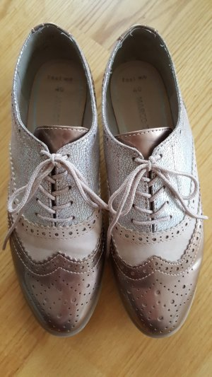 Marco Tozzi Zapatos estilo Oxford multicolor Sintético