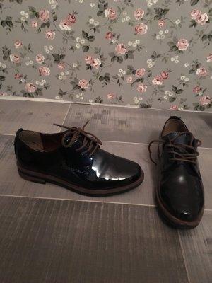 Marco Tozzi Halbschuhe Schuhe Schnürschuhe blau Gr. 36