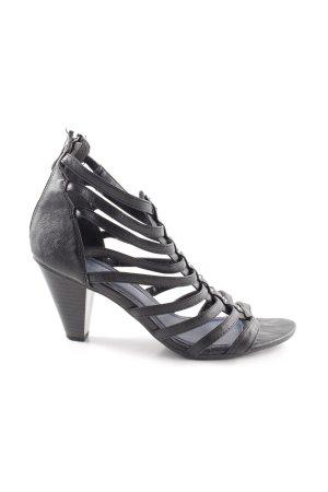 new arrival 02c50 262ba Marco Tozzi High Heel Sandaletten schwarz Business-Look