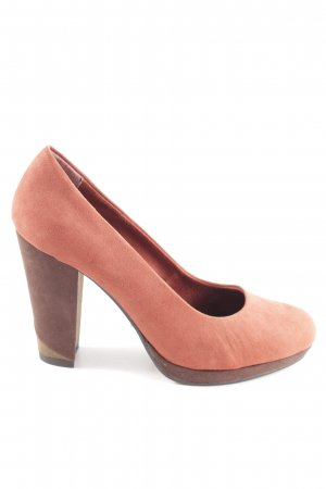 Marco Tozzi High Heels hellorange Casual-Look