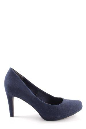 Marco Tozzi High Heels lila Casual-Look