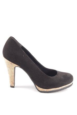 Marco Tozzi High Heels schwarz-wollweiß Elegant