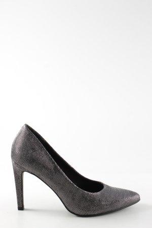 Marco Tozzi High Heels silberfarben Elegant