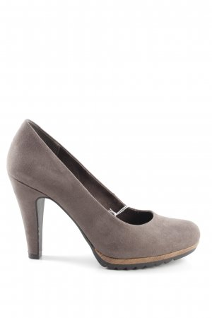 Marco Tozzi High Heels bronzefarben Business-Look