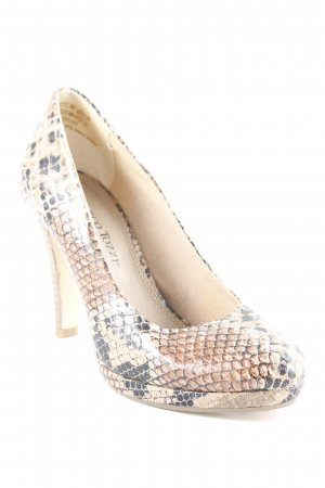 Marco Tozzi High Heels Animalmuster Business-Look