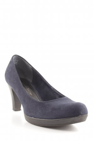 Marco Tozzi High Heels blau Business-Look