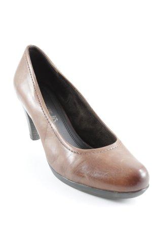 Marco Tozzi High Heels cognac Casual-Look