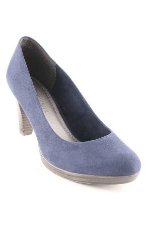 Marco Tozzi High Heels dunkelblau Elegant