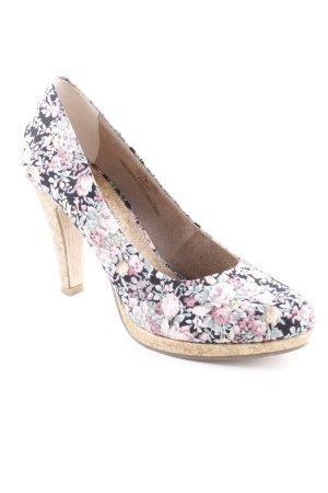 Marco Tozzi High Heels florales Muster Romantik-Look