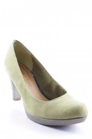 Marco Tozzi High Heels hellgrün Casual-Look