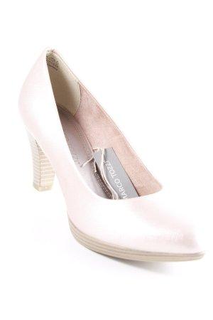 Marco Tozzi High Heels roségoldfarben Romantik-Look