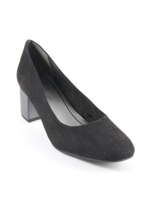 Marco Tozzi High Heels schwarz Casual-Look