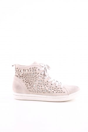 Marco Tozzi High Top Sneaker creme Casual-Look