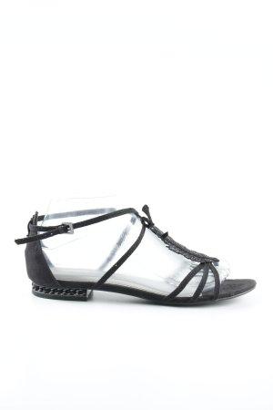 Marco Tozzi Sandalo con cinturino nero Elementi metallici