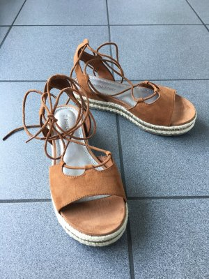 Marco Tozzi Roman Sandals brown