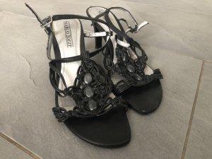 Marco Tozzi Sandalo con cinturino nero-argento