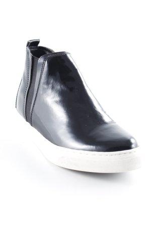Marco Tozzi Schlüpfsneaker schwarz Casual-Look
