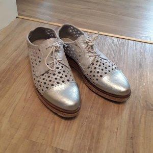 Marco Tozzi Scarpa stringata argento-grigio
