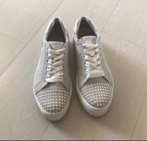 Marco Tozzi Sneaker stringata bianco-grigio chiaro