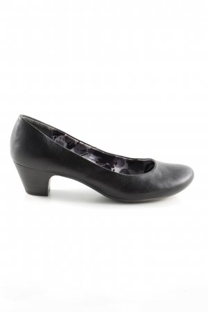 Marco Tozzi Spitz-Pumps schwarz Business-Look