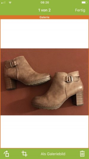 Marco Tozzi Booties brown-light brown