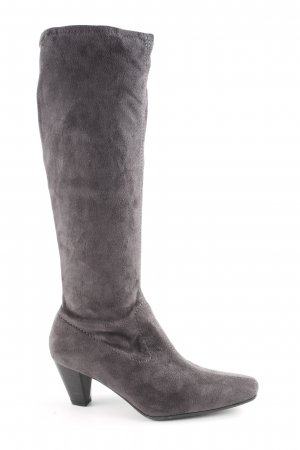 Marco Tozzi Bottes stretch gris anthracite