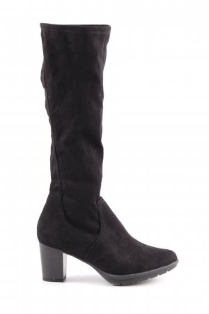 Marco Tozzi Stretch Boots black casual look