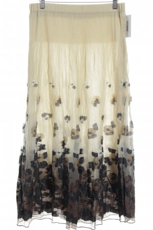 Marcona Crash Skirt flower pattern romantic style