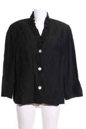 Marcona Jersey Blazer negro look casual