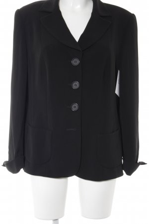 Marcona Kurz-Blazer schwarz Business-Look