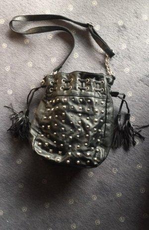 MarcoTozzi- Tasche schwarz mit Nieten
