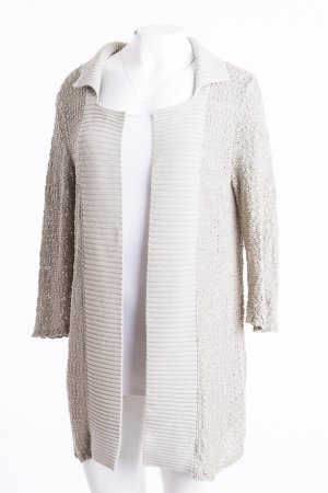 Marella Cardigan all'uncinetto beige Cotone