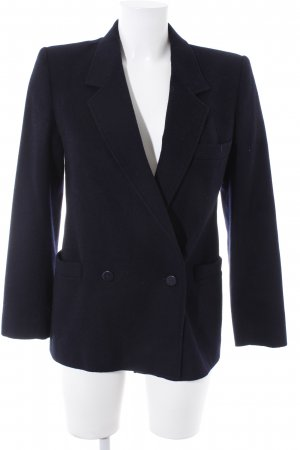 Marella Cabanjacke schwarz Business-Look