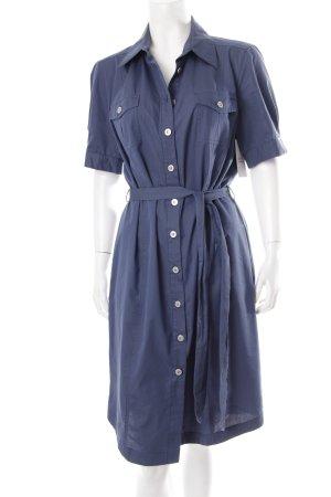 Marella Hemdkleid stahlblau schlichter Stil