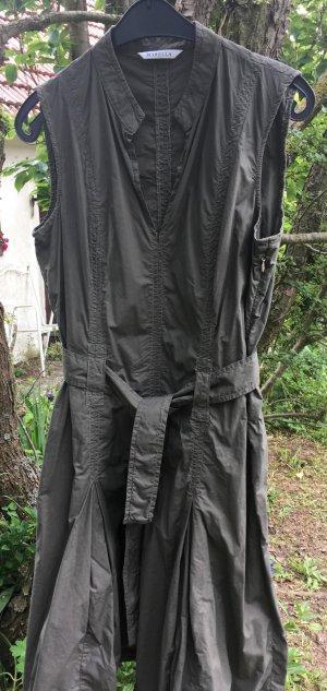 Marella khakifarbenes Sommerkleid mit Taillengürtel