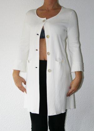 Marella Long Blazer white-gold-colored