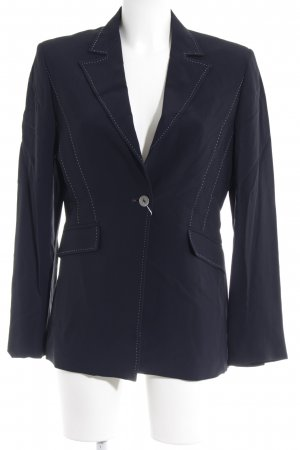 Marella Long-Blazer schwarz Business-Look