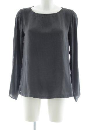 Marella Blusa ancha gris claro elegante