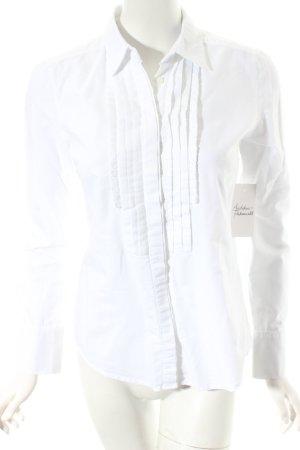 Marella Rüschen-Bluse weiß klassischer Stil