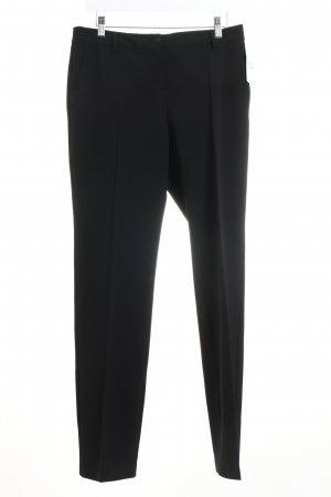 Marella Stoffhose schwarz Business-Look