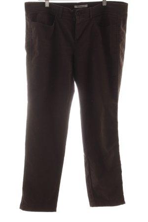 Marella Straight-Leg Jeans dunkelbraun Boho-Look