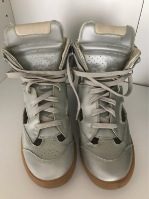 Maison Martin Margiela High Top Sneaker silver-colored-light grey