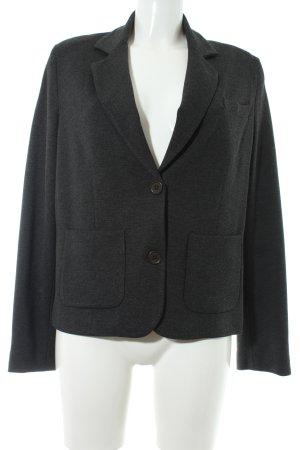 Margittes Jersey blazer antraciet zakelijke stijl